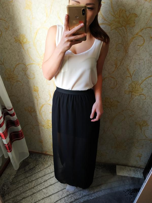 e5ed17fb061 Красивая шифоновая длинная юбка в пол1 фото ...