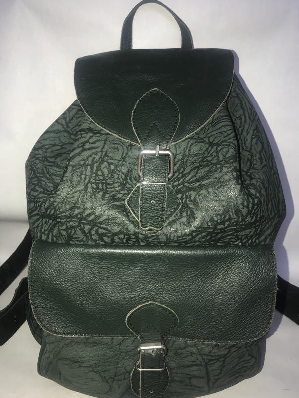 17212fb3321f Большой кожаный городской рюкзак. формат а-4. Leather Fashion, цена ...