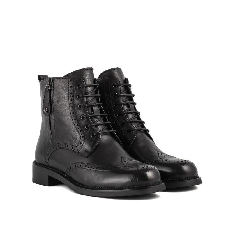 c194dbfc6c2f 1068ц женские ботинки djovannia,кожаные,на каблуке,на низком ходу,на  толстой ...