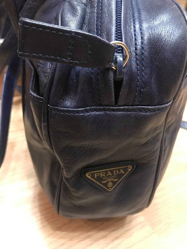 d4b80e2e34eb Сумка prada оригинал сумочка женская синяя италия Prada, цена - 450 ...