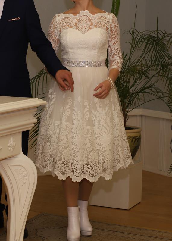 b1caa2f8c8e8236 Изумительное платье для росписи и свадьбы Chi Chi London, цена ...