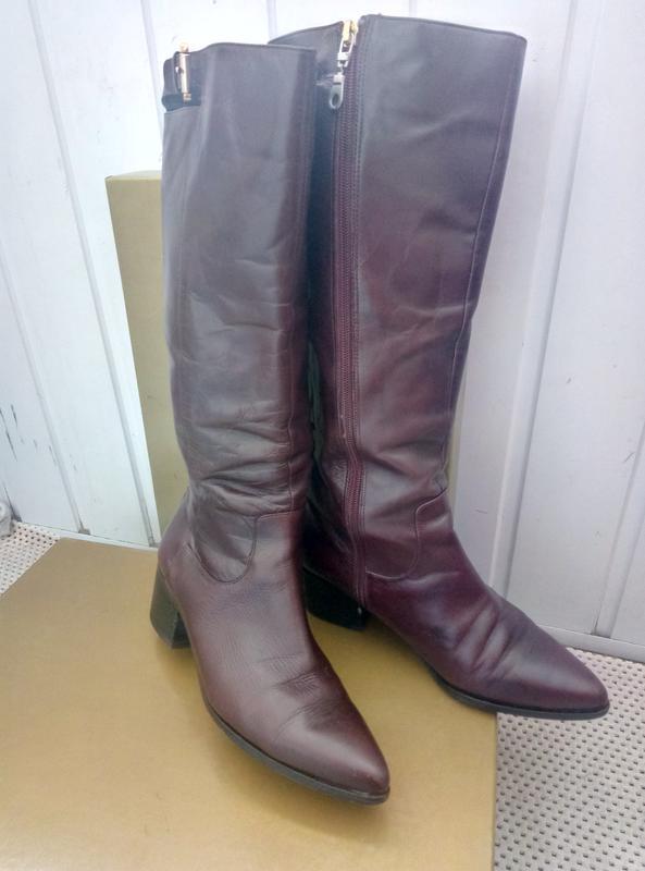 aa32f57ec Демисезонные сапоги сапожки кожаные geox 38 р Geox, цена - 250 грн ...