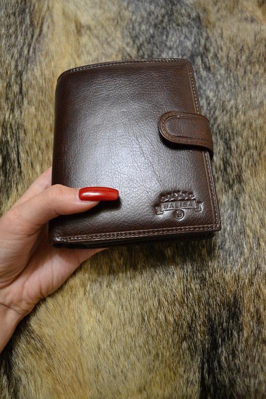 05940e279425 Кошелек мужской кожаный balisa (коричневый), цена - 480 грн ...