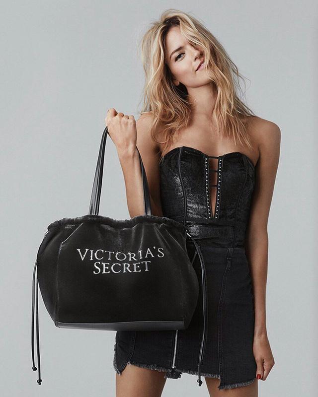 bef2df556b9b Стильная бархатная сумка виктория сикрет victoria s secret, оригинал ...