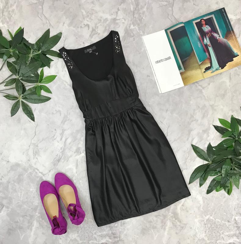 Приталенное платье с декором  dr1849011 dice, цена - 255 грн, #18358242, купить по доступной цене | Украина - Шафа