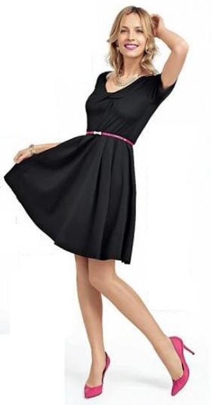 Платье avon изящный силуэт черное румяна эйвон шарики