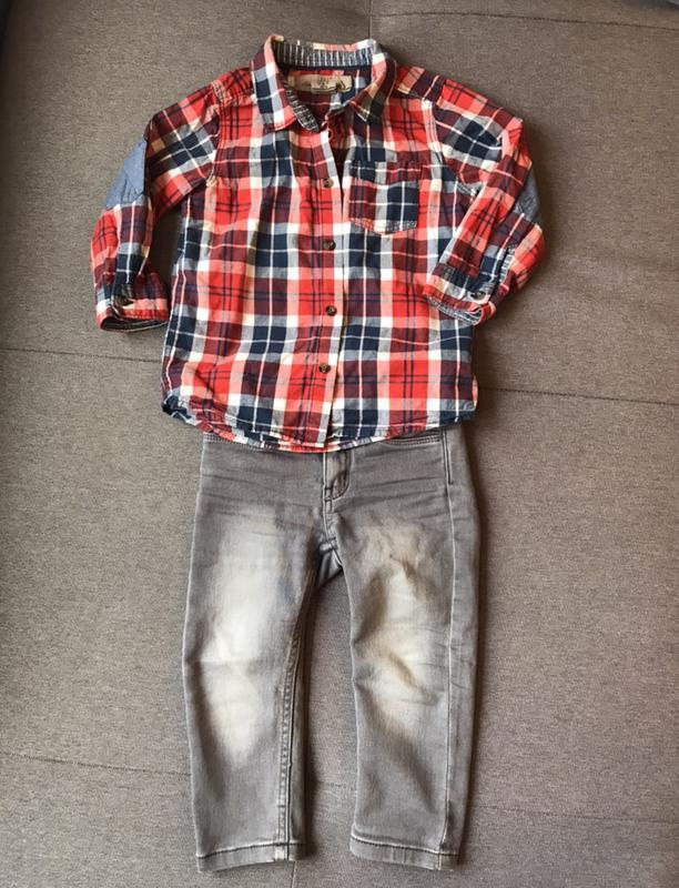 7220ad932f2 Набор для модника - рубашка и джинсы 1
