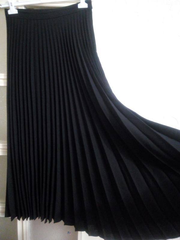 Длинная тёплая юбка плиссе 12р1 ... e8eddb2836758