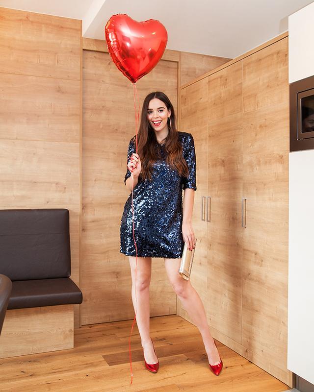 f74f79726fe Платье вечернее с пайетками esmara heidi klum