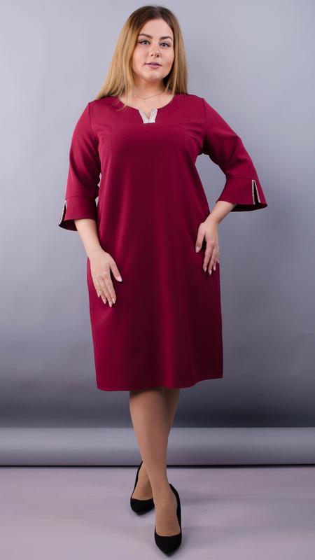 ba55986be4b Нарядное женское платье больших размеров  50-641 фото ...