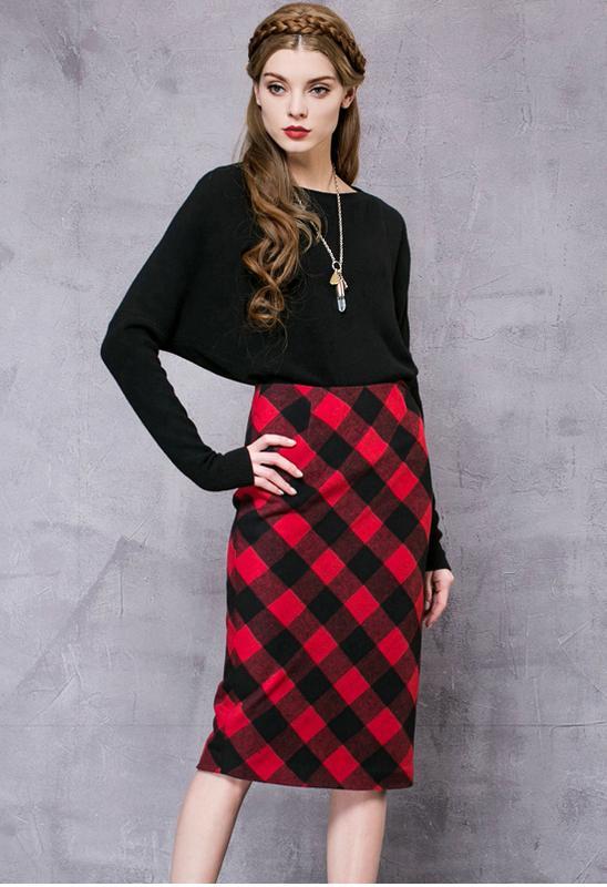 a559aa950a30 Стильная юбка шотландка (Турция) за 120 грн.