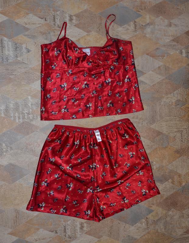 948610bd6df Пижама атласная микки маус disney комплект для дома и сна Disney ...
