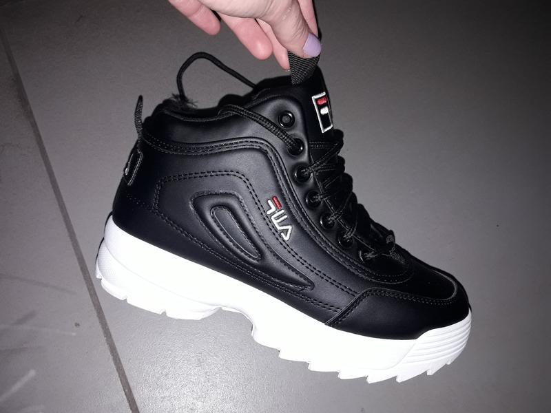 36-40 женские зимние высокие кроссовки хайтопы на мягком меху кросівки  зимові1 601ccf5e4cd