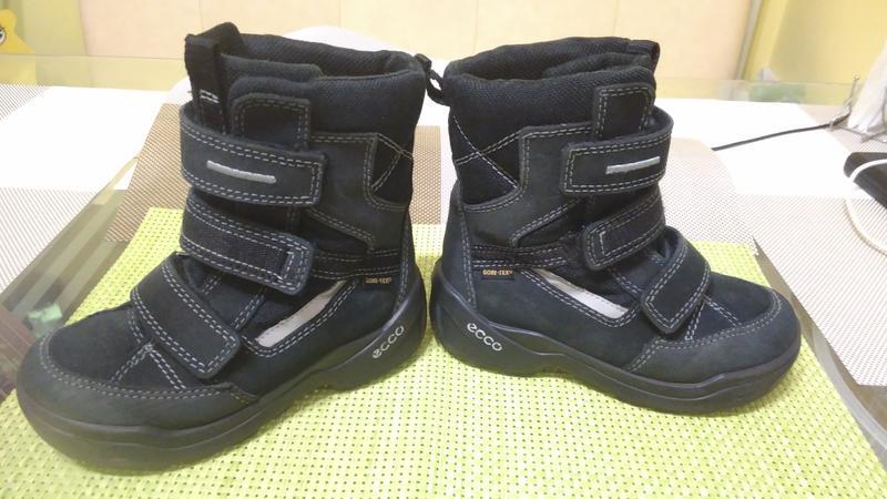 Зимові термо чобітки ecco gore-tex 28р. fbbce04844fda