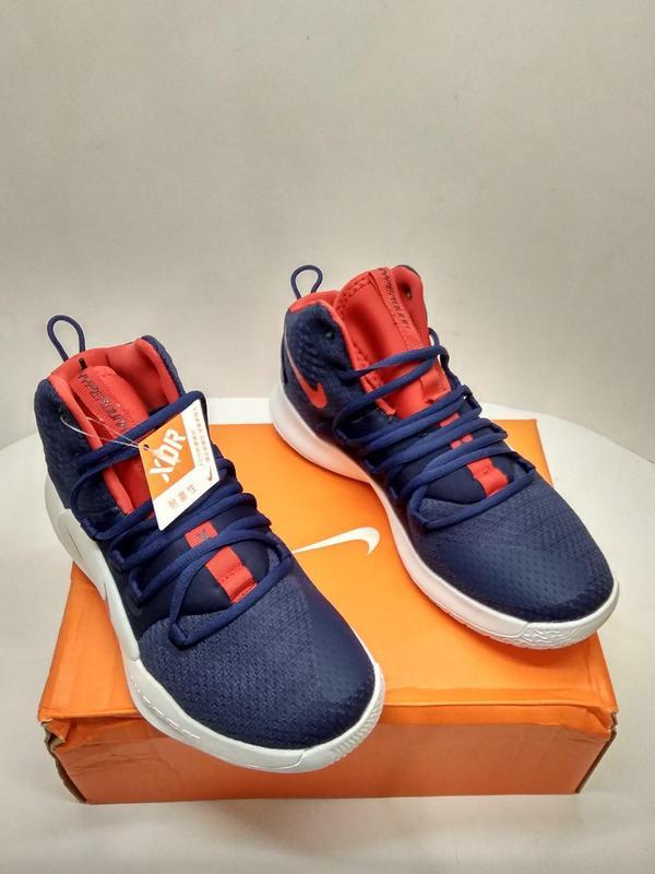 "bb909780 Баскетбольные кроссовки nike hyperdunk x ""usa"" navy blue/red-white1 фото ..."