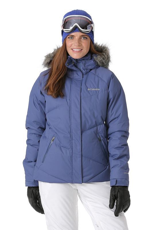Новая женская лыжная куртка сolumbia lay  d  down jacket размеры s ... 83c745644e9a8