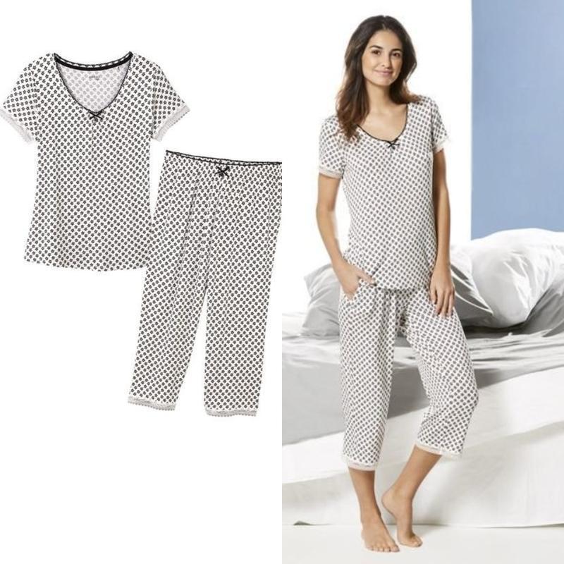 f78ef4b0d64 Женский домашний костюм пижама с кружевом esmara германия