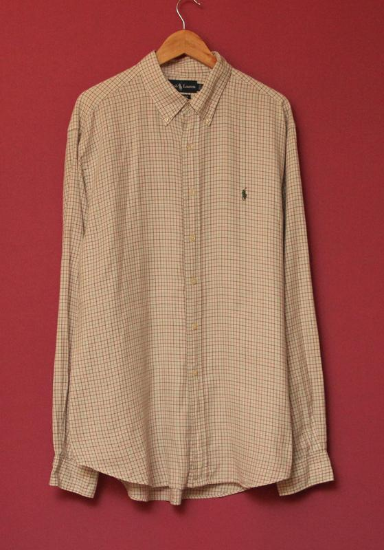 916fc1db4d93246 Polo ralph lauren рр xl рубашка из хлопка оригинал Ralph Lauren ...