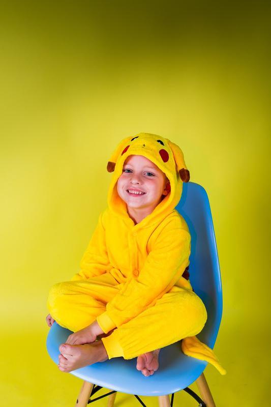 Детские пижамы костюм кигуруми пикачу1 ... 2596129cb15a0