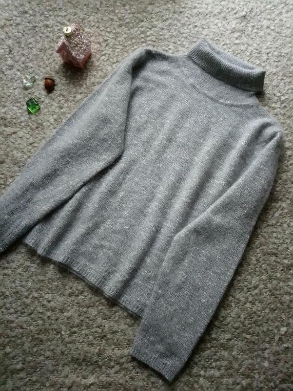 dd0a012a3817 Мягкий свитер гольф шерсть ангора р. 52 от essentials, цена - 350 ...