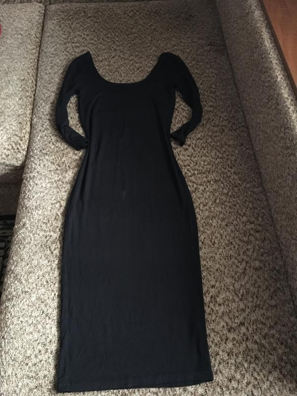 5fc7d62285e Базовое чёрное платье Miss Selfridge