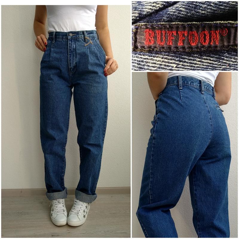 c56c8c16179 Джинсы мом бойфренды mom jeans с высокой посадкой мамы бананы1 фото ...