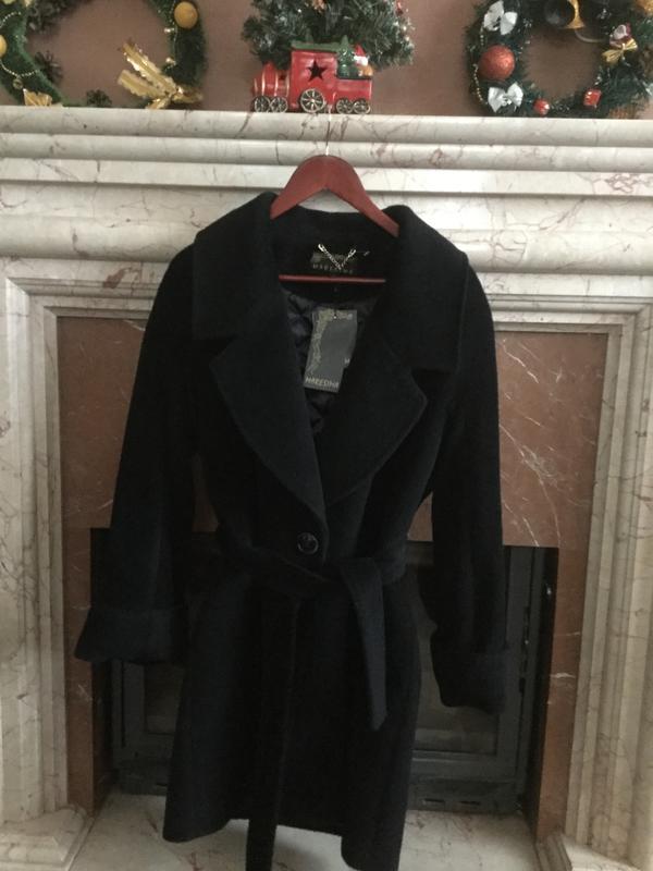 Брендовое утепленное пальто с шерстью альпаки. италия. maresima.1 ... c5471276b6dca