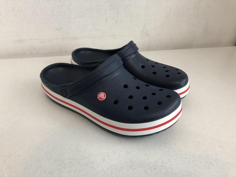 Кроксы сабо crocs crocband unisex navy ( есть все размеры ) Crocs ... 8df0feba94a06