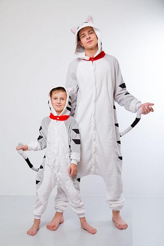 Пижама кигуруми - кот чи1 ... d30cfb9b3fff1