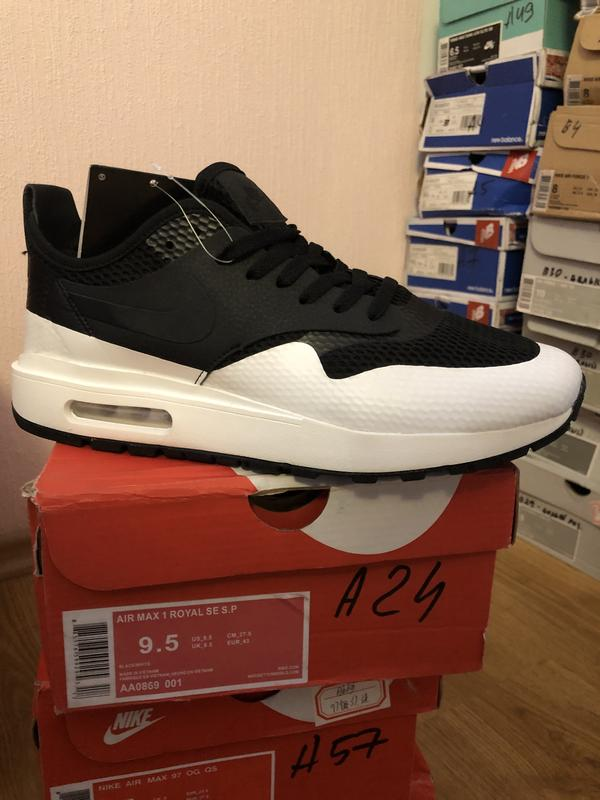 the best attitude 14150 4d0f2 Nike air max 1 royal se sp1 ...