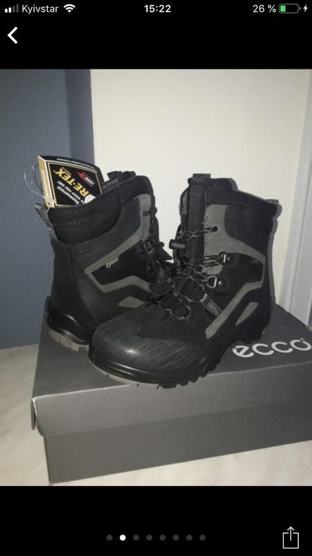 Зимние ботинки ecco gore-tex(оригинал!)р.32  119cfba312770