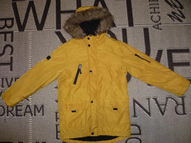Куртка rebel (р.134 на 8-9лет) курточка парка Rebel 76689735abfde