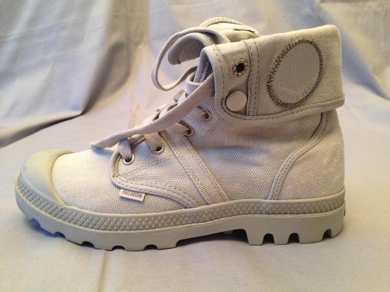 Ботинки кеды светло серые palladium pallabrouse baggy Palladium ... 73276c918f911