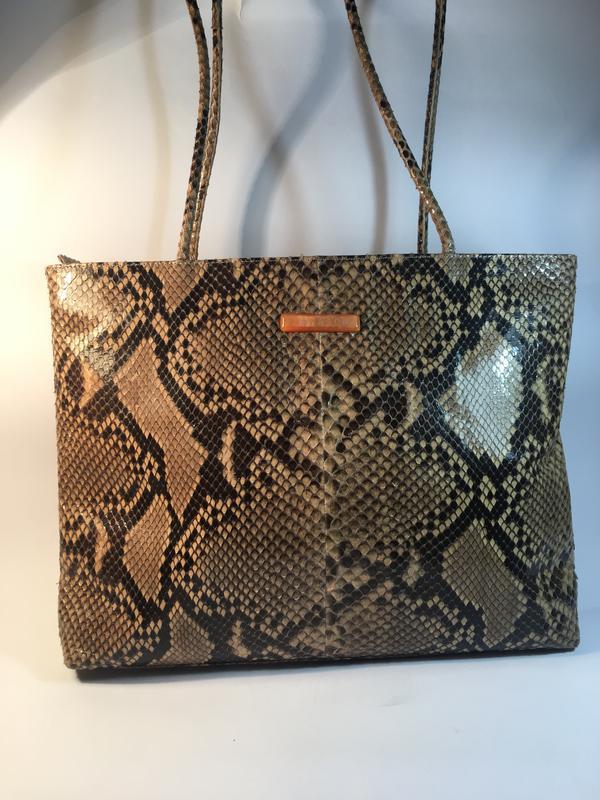 6eaff5608b8b Эксклюзивная кожа питона!кожаная сумка люкс класса, натуральная кожа питона,  италия1 фото ...