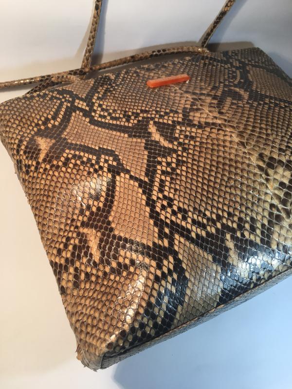 ed0f06d1fe78 ... Эксклюзивная кожа питона!кожаная сумка люкс класса, натуральная кожа  питона, италия3 фото ...