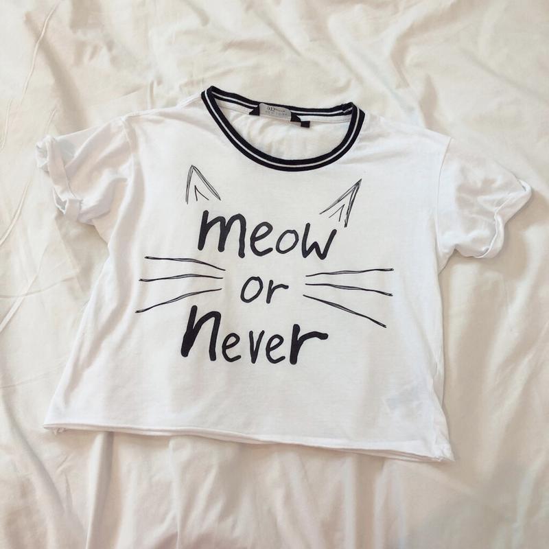 Женская новая белая футболка с принтом new look New Look 8194a0756200b