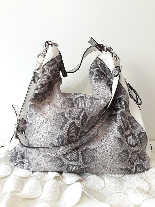 54e6225cdb4d Италия, кожаная сумка в анимал принт от claudia firenze, цена - 2500 ...