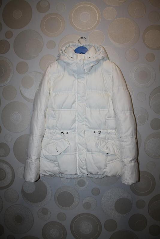 8fe48d519c2 Белая куртка пуховик esprit германия р. м Esprit