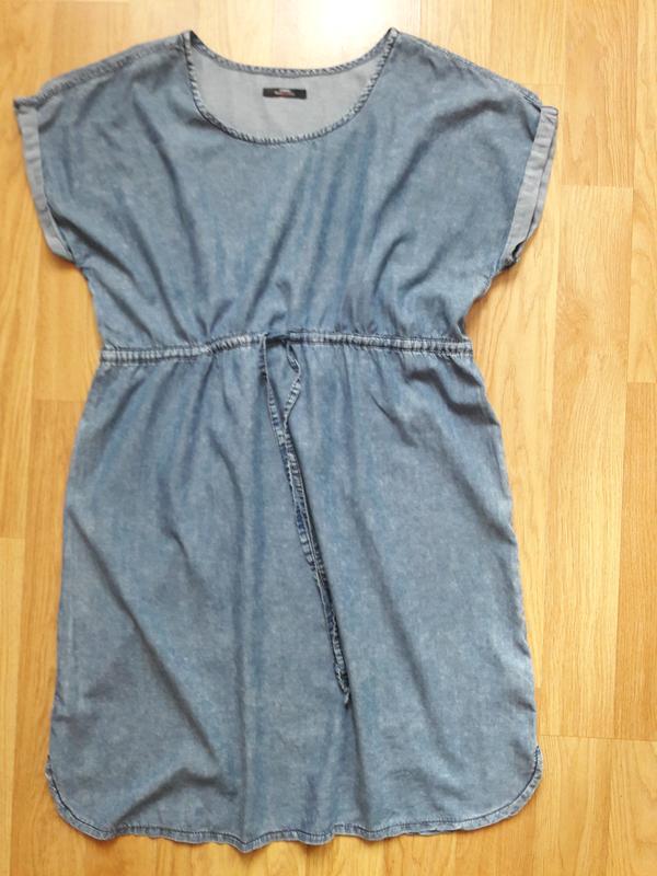 eeec845a1b3 Джинсовое платье для беременных George