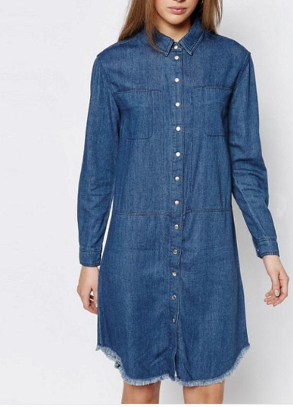 740ba588ce883ec Джинсовое платье рубашка батал Warehouse, цена - 350 грн, #18854794 ...