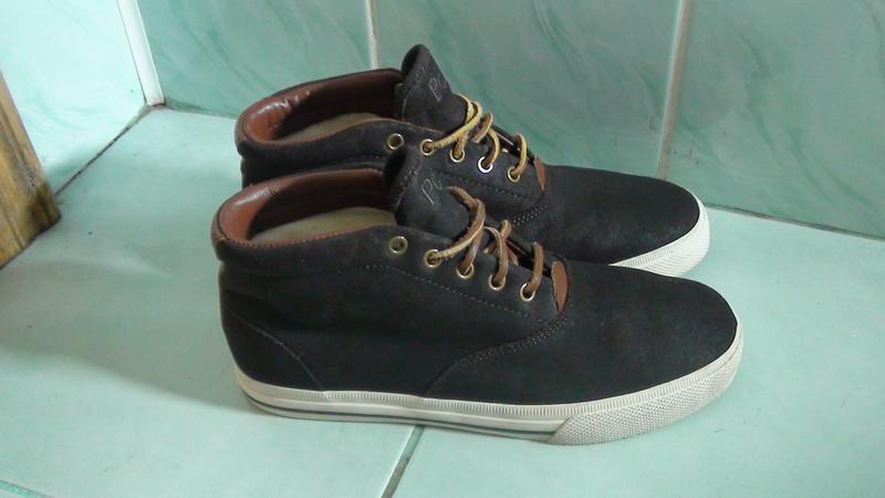 Polo - шкіряні кросівки-черевики. р- 41 (26.5см)1 ... bb5fe9e1dc82d