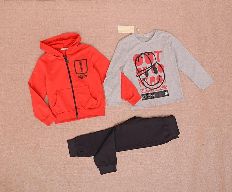 fa17b961 Спортивный костюм тройка для мальчика на возраст 4года турция 122161 ...