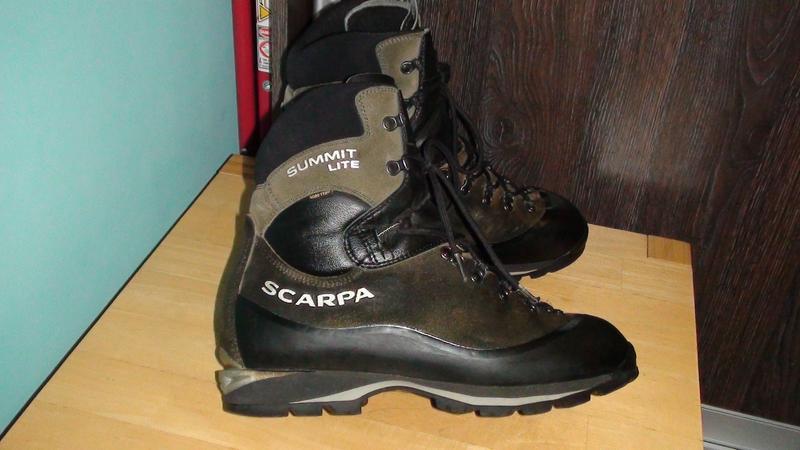 Scarpa summit lite - італійські шкіряні трекінгові черевики. р- 44 (28.5см)  ... 1822229a7caa3