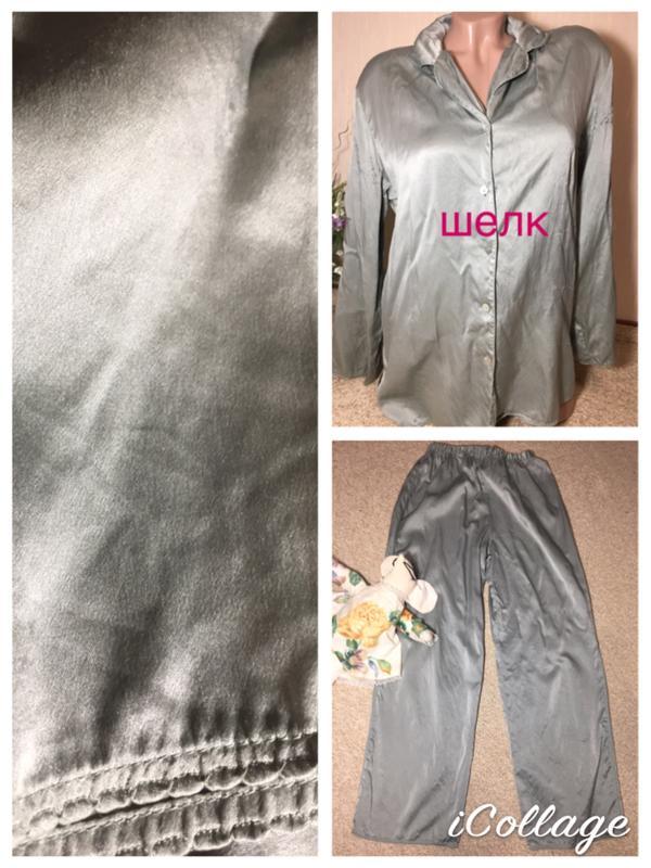 233e9d128a9 Шелковая пижама натуральный шелк 100% jillian jones1 фото ...