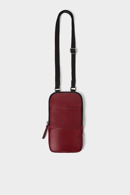 524adc91d2a8 Кожаная сумка-чехол для телефона zara ZARA, цена - 200 грн ...