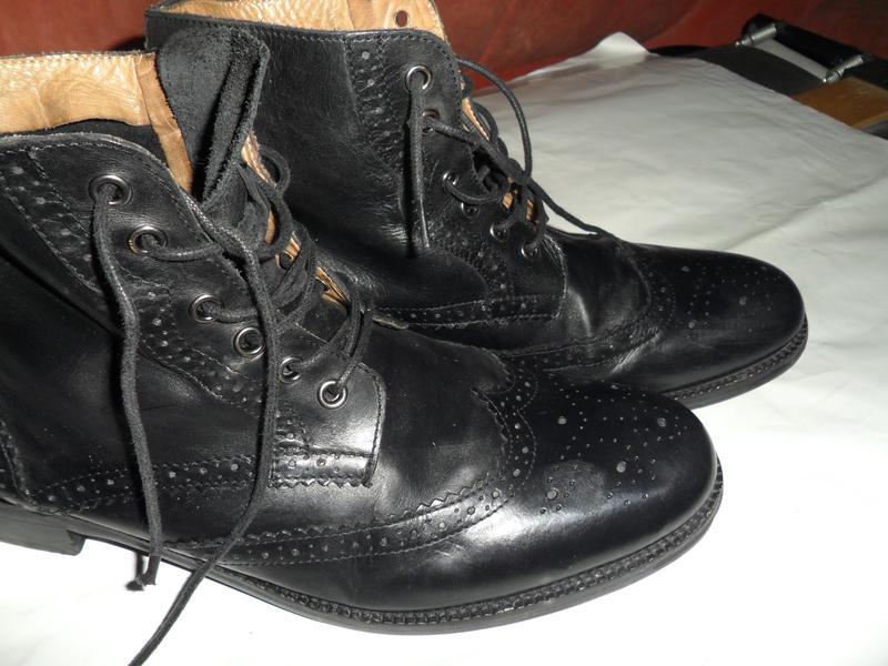 b52e40390 ... Мужские ботинки оксфорды,кожа,германия фирмы zign,размер 454 фото ...