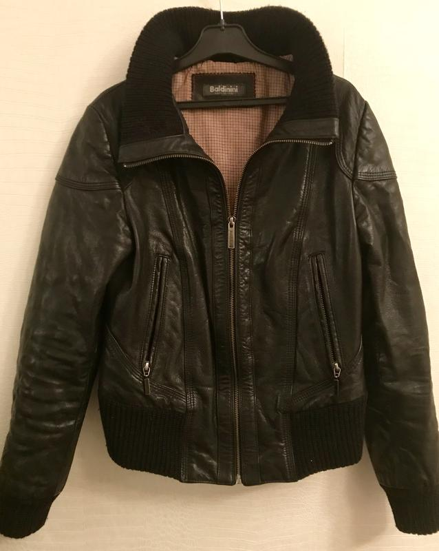 1df4fdecb Кожаная куртка baldinini Baldinini, цена - 7200 грн, #18992198 ...