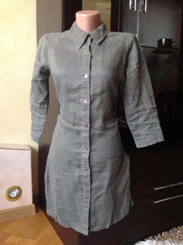 06e55c4f7f1 Длинная рубашка хаки1 ...