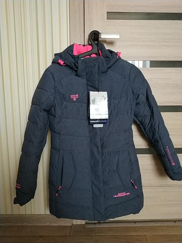9c742c0ddce4 Нереально теплая удлиненная горнолыжная курточка с мембраной snow  headquarter1 ...
