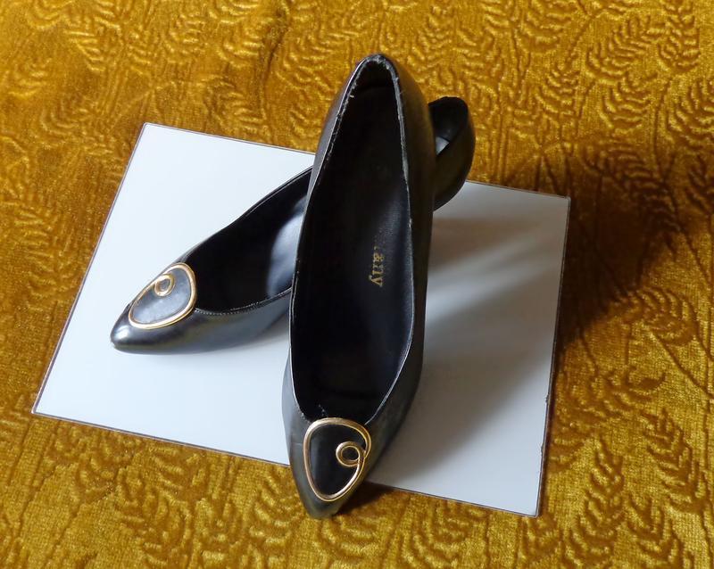 Туфлі чорні жіночі tiffany 5e3d35e4d3e99